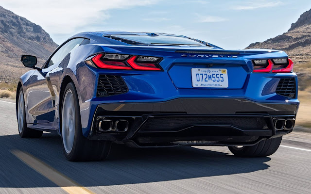 Novo Corvette Stingray C8