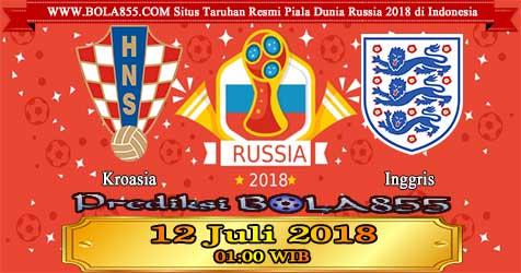 Prediksi Bola855 Croatia vs England 12 Juli 2018