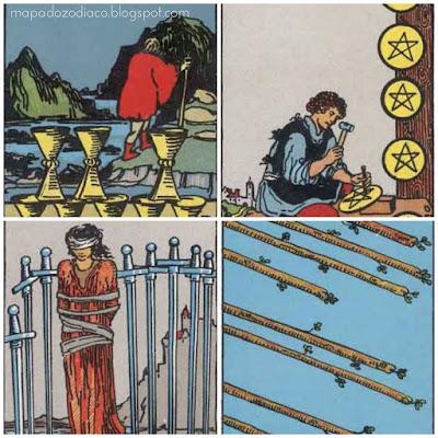 significado das cartas de número 8 no tarot