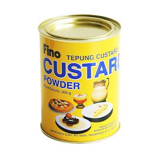 Tepung Custard untuk puding