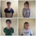 Polsek Maniangpajo Mengamankan 4 Orang Pesta Narkoba di  Wisma