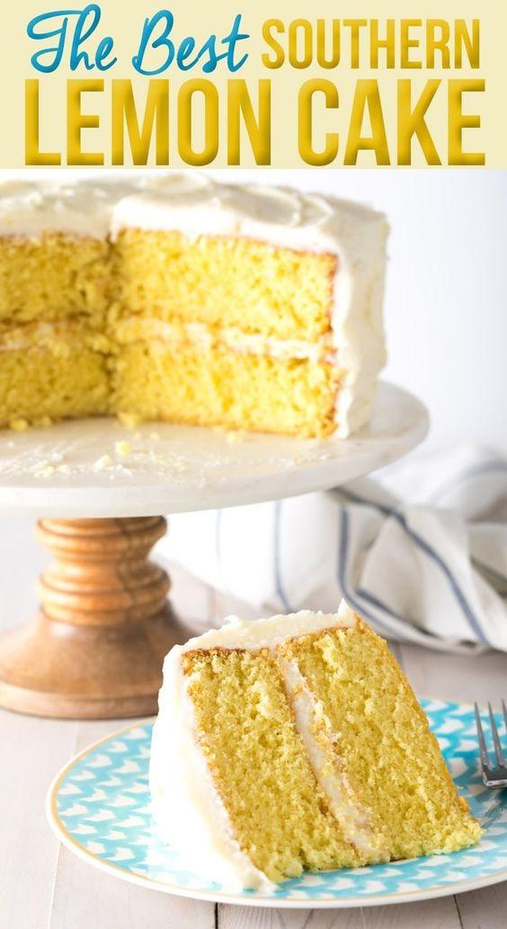 Best Lemon Buttermilk Cake