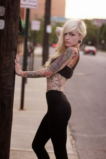 Side Tattoo | Patton Suicide | Sexy Tattooed Girls | Hottest Tattoo Models