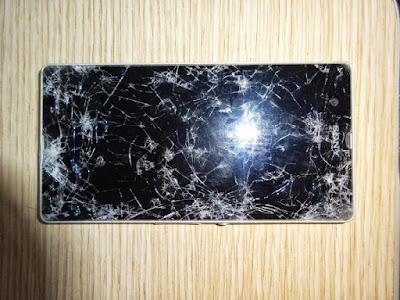 Điện thoại sony Z3 bị vỡ màn hình