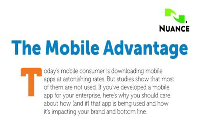 The advantages of mobile marketing #infographic