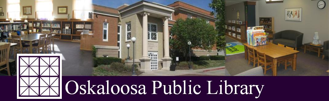 Oskaloosa Public Library: Online Resources