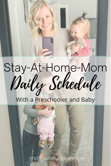 A Day in the Life: My Stay-At-Home-Mom Schedule