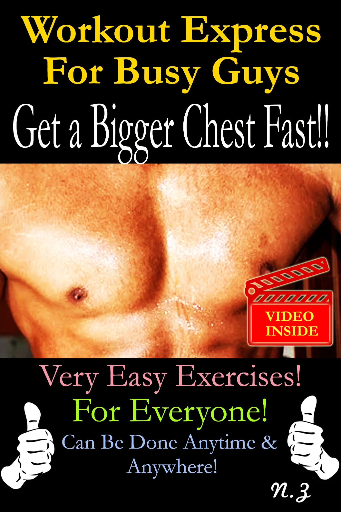 Workout Express For Busy Guys: Get A Bigger Chest Fast!!