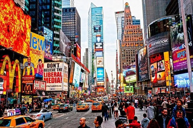 Times Square - an attractive destination for travelers