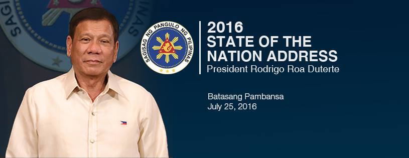 Duterte SONA 2016 how to watch live streaming, time, highlights