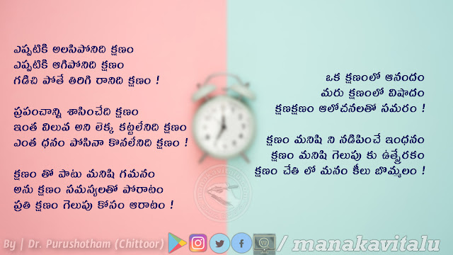 Telugu quotes on Time