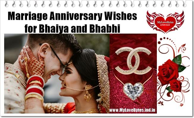 Marriage Anniversary Wishes for Bhaiya and Bhabhi They Will Love