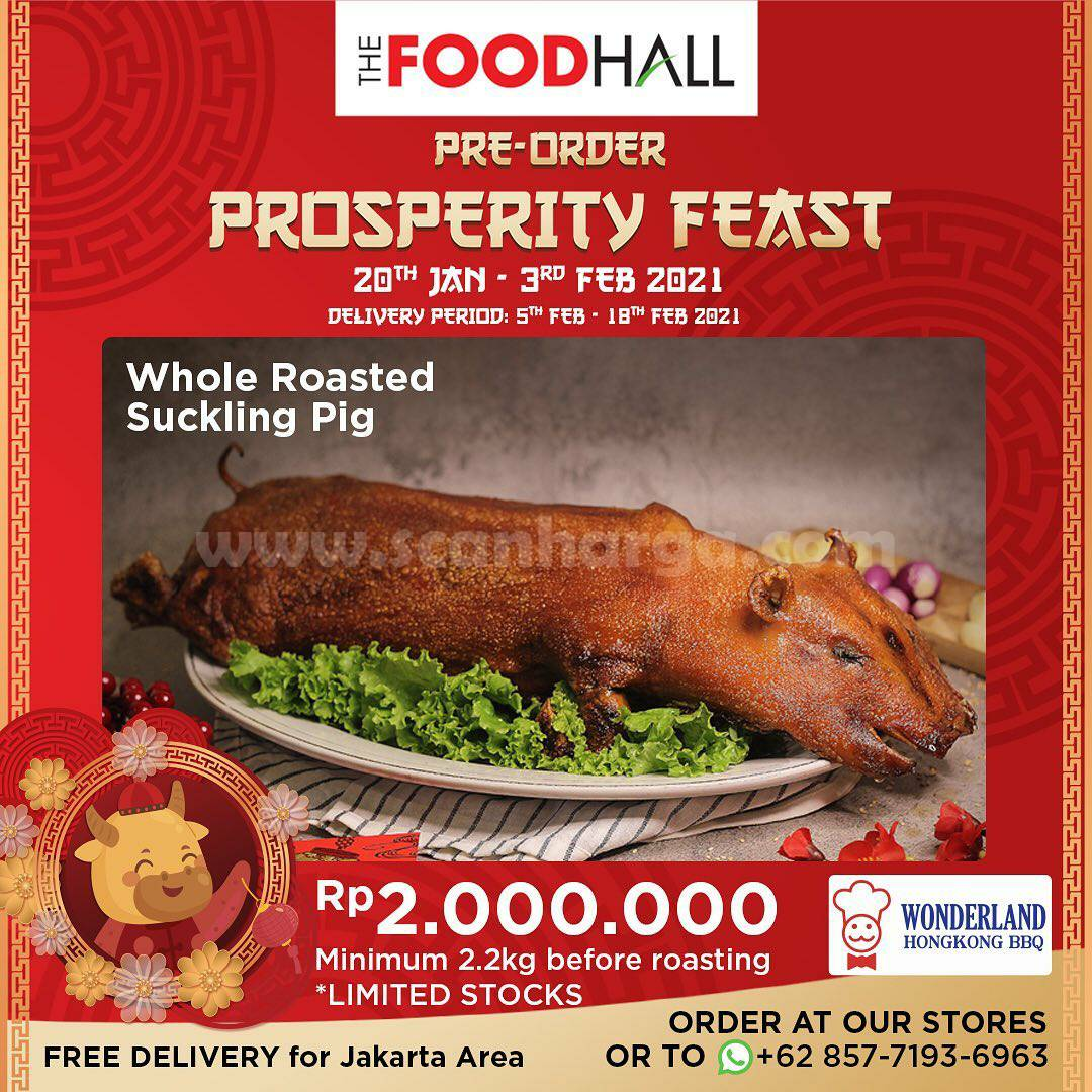 THE FOODHALL Promo Pre-Order Chinese New Year Prosperity Feast Package!