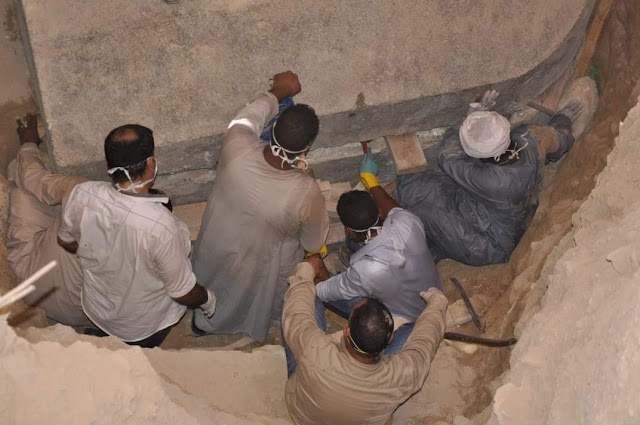 The workers from Upper Egypt