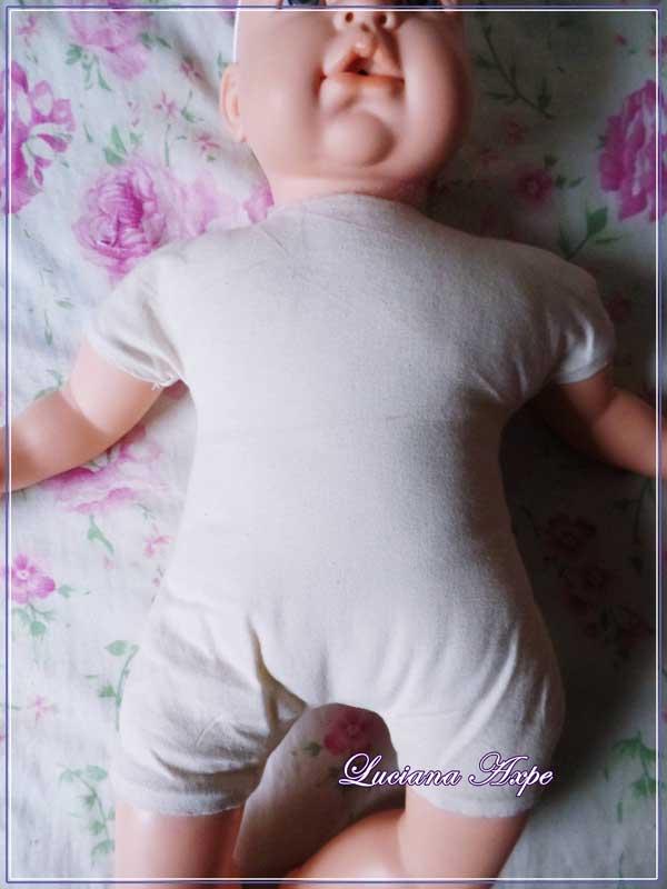 corpo de boneca restaurada