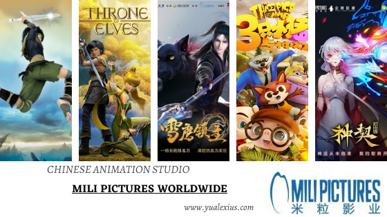 Mili Pictures Chinese Anime Studio