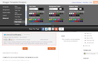 Customise Blogger Default Template To Make Professional Template