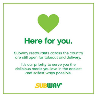 Friendly Reminder from SUBWAY