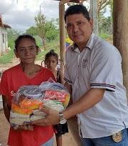 Polícia Civil da cidade de Igarapé Grande realiza ação social de Natal
