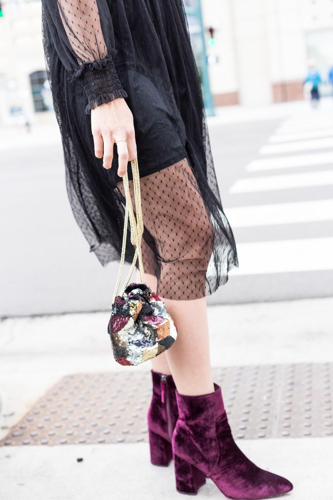 Black Dress For Halloween by Colorado fashion blogger Eat Pray Wear Love