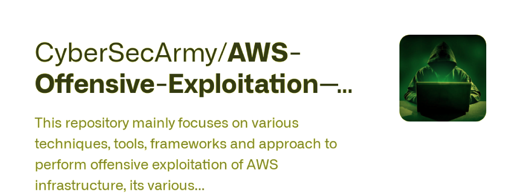 Scour : AWS Exploitation Framework