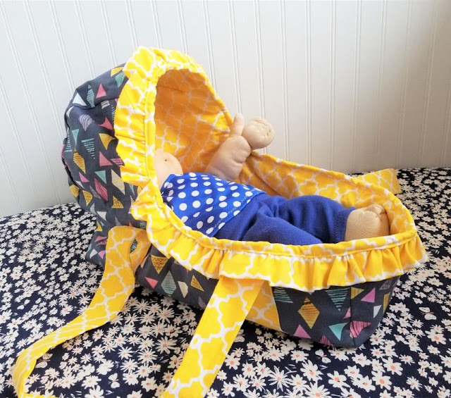baby basket pattern