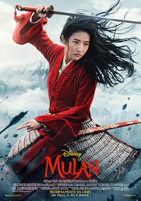 Mulan - Cartel 2020 España
