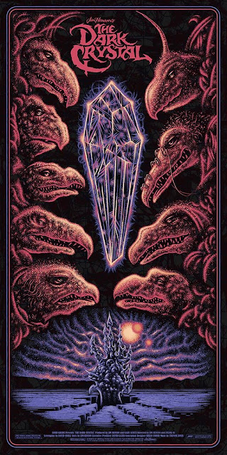 MondoCon 2019 Exclusive The Dark Crystal Movie Poster Screen Print by Todd Slater x Mondo