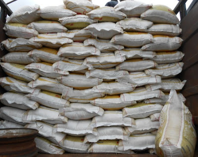 14000 bags of rice seized customs