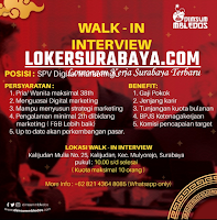 Walk In Interview at Dimsum MBledos Surabaya Oktober 2020