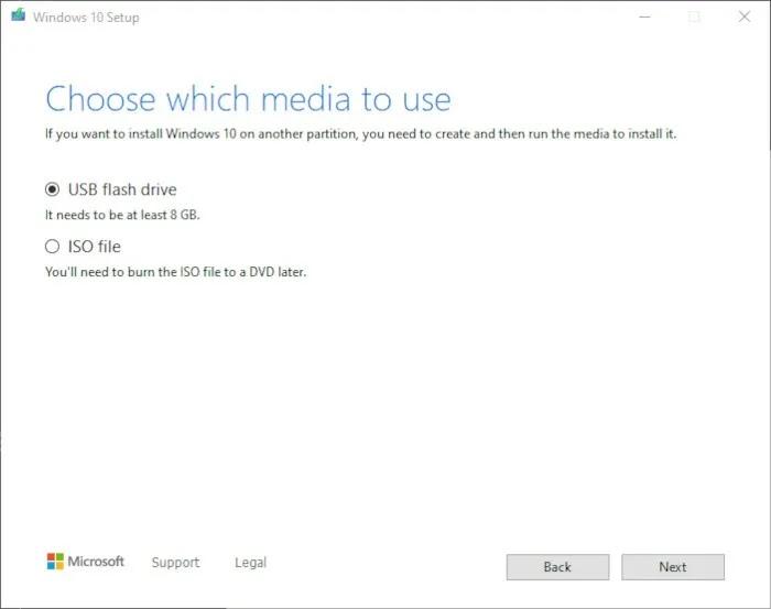 قم بتثبيت Windows 10 2021 الخطوة 4