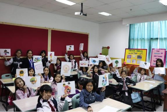 Filipino students in UAE