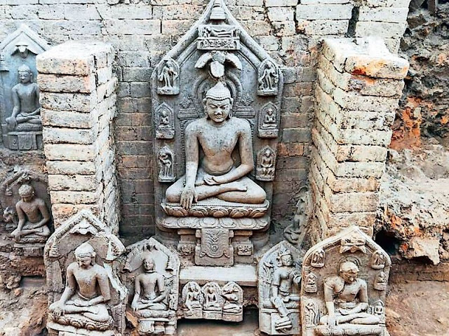 Tenth century Buddhist monastery found in Jharkhand