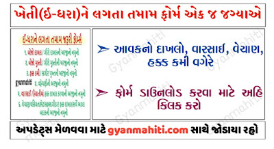 E-Dhara All Forms Available For Download