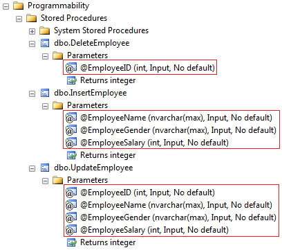 overriding the default stored procedure parameter names in entity framework code first