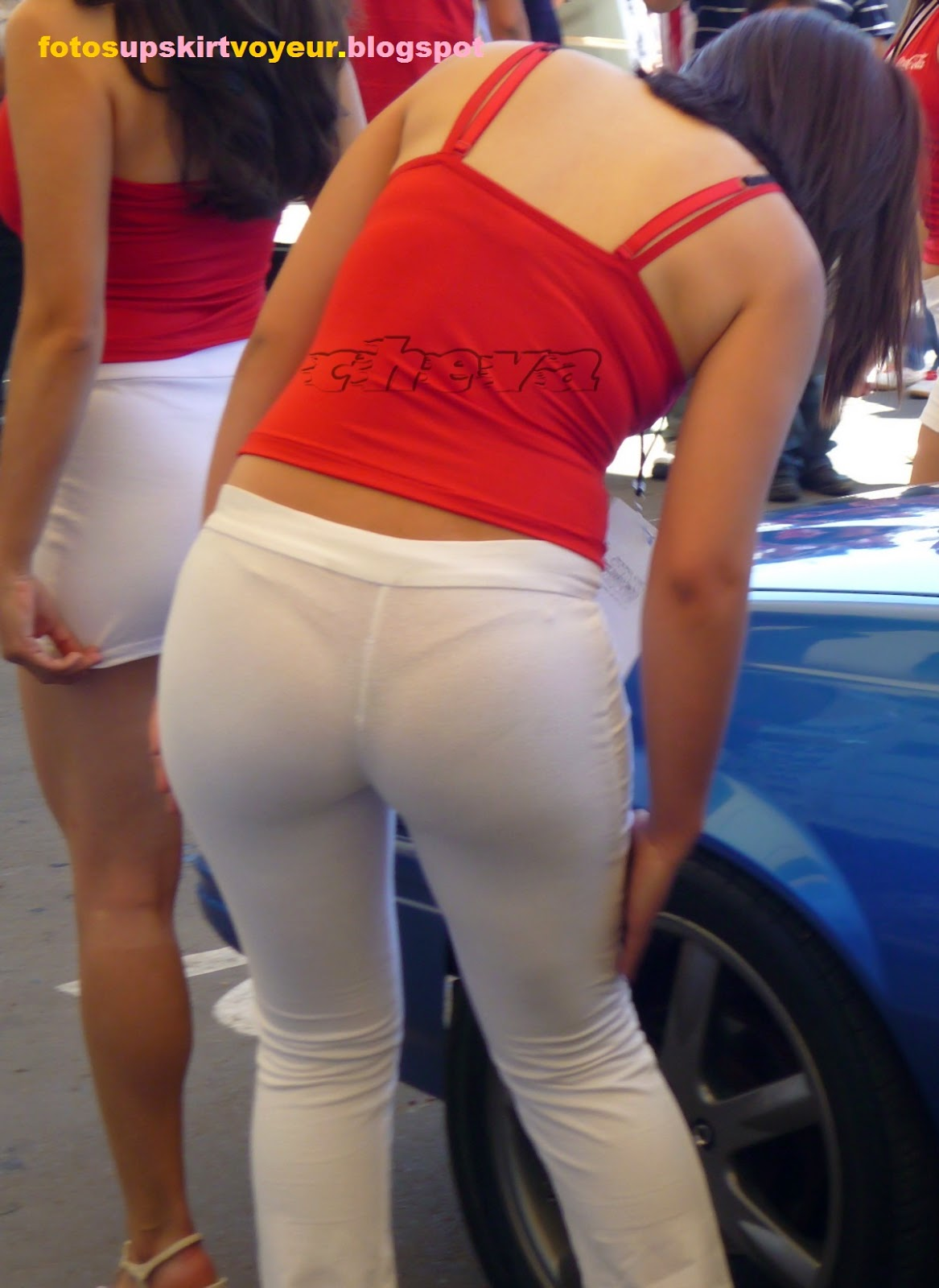 Pendeja en jeans blancos terrible ortoo - 3 part 2