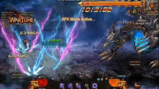 wartune memiliki mode permainan yang mirip dengan game facebook