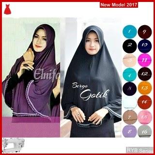 RYB021B Hijab Jilbab Cantik Bergo Murah Gotik BMG Online Shop