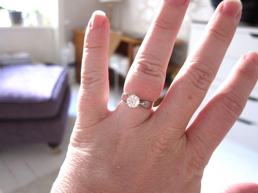 vilket finger ska förlovningsringen sitta på
