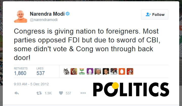 narendra-modi-tweet-on-FDI