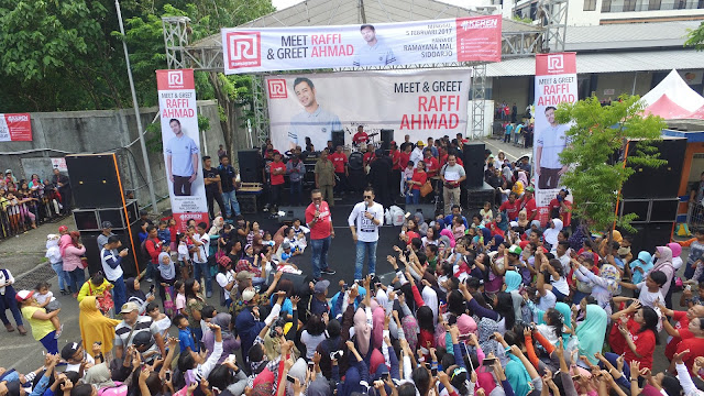 meet and greet raffi ahmad