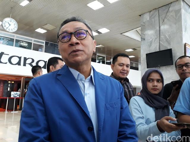 Usai Bertemu Jokowi, Zulkifli Bicara Dua Kandidat Capres