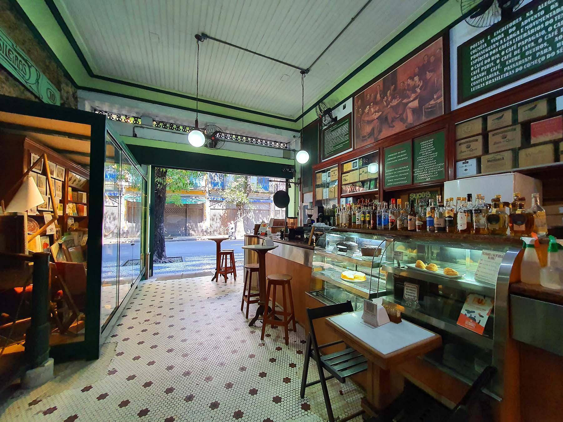 Café do Bom Cachaça da Boa no Rio de Janeiro