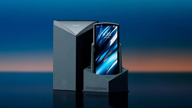 Smartphone màn hình gập Motorola Razr 2020