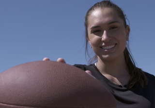 Is This the NFL's First Female Player?