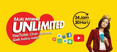Cara Daftar Paket Internet Unlimited Indosat Tanpa Kuota