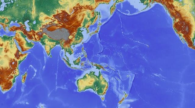 Pengertian, Karakteristik, dan Perbedaan Peta Topografi & Peta Kontur