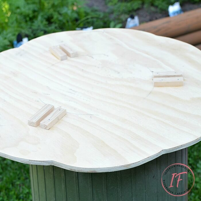 DIY Bistro Cafe Tabletop Supports