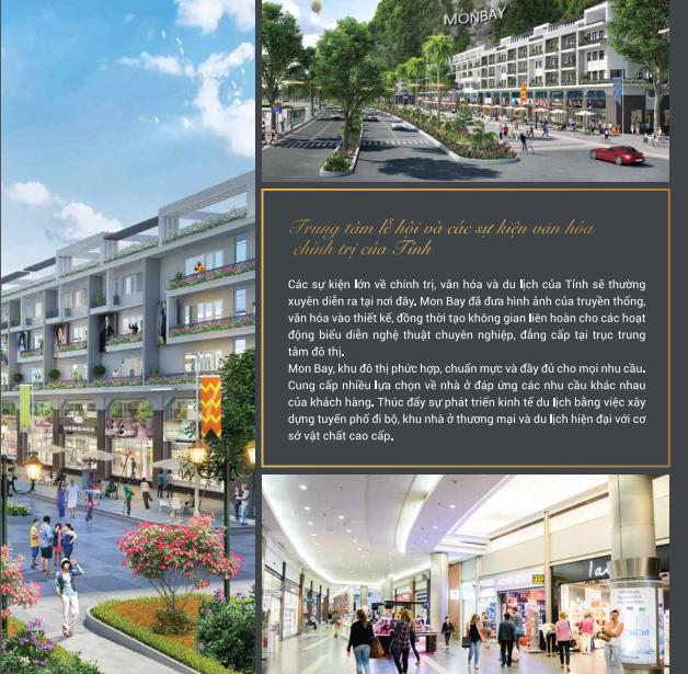 Nhà phố thương mại Mon Bay Hạ Long