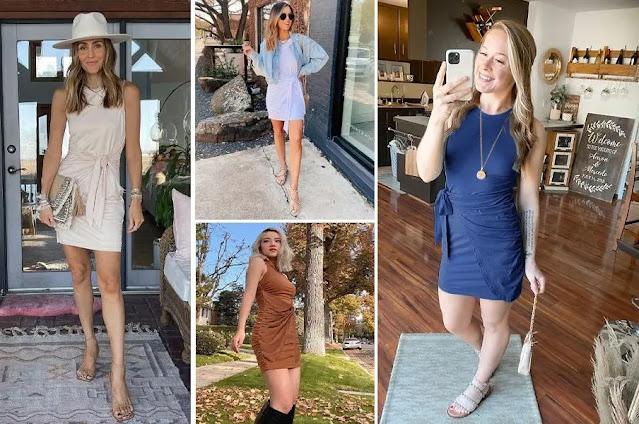 1. LILLUSORY Sleeveless Crewneck Bodycon Dresses - Features :